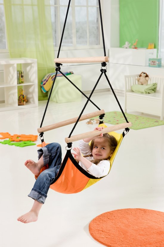 Kinderhangstoel 'Swinger' yellow