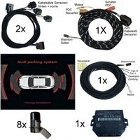APS + Audi Parking System Plus - voor + achter - Audi A3 8P