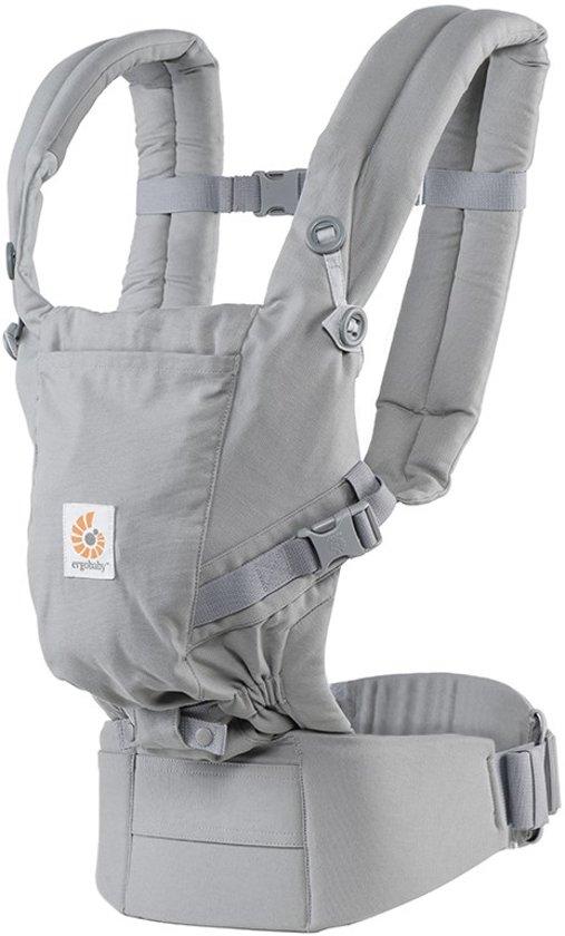 1ee402e7eb4 Ergobaby Adapt - Grey - ergonomische draagzak vanaf de geboorte zonder  verkleinkussen
