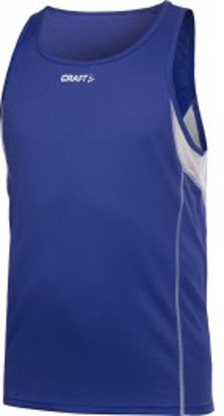 Craft T&F Singlet Men cobolt xl