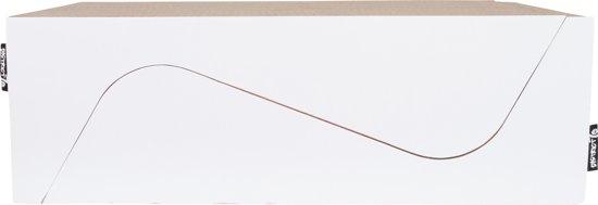 District 70 DOUBLE WAVE krabpaal - 2 krabmeubels van 58 x 40 x 20 cm