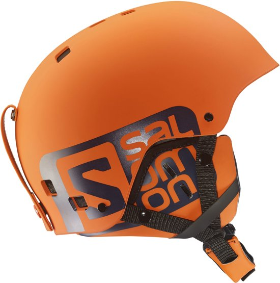 4ea38b0f4b3 Salomon Skihelm - Unisex - oranje/zwart M: 56-57cm salomon skihelm orange