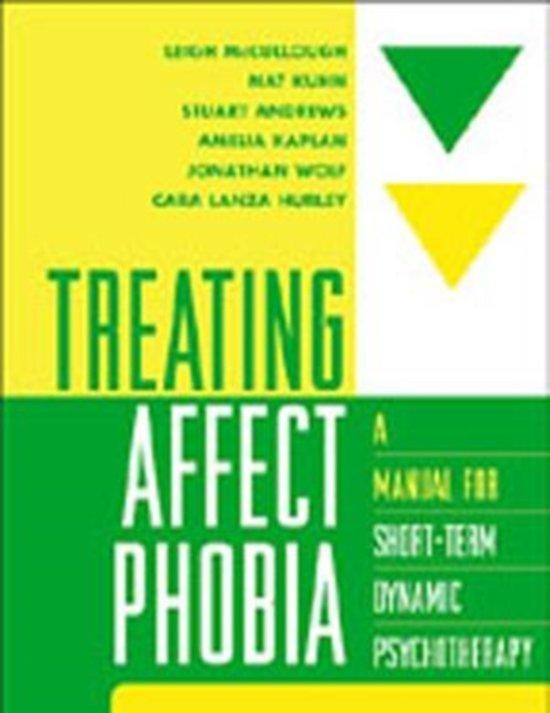 Bol Treating Affect Phobia 9781572308107 Leigh Mccullough