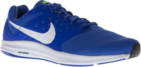 Nike Downshifter 7 Hardloopschoenen - Maat 42.5 - Mannen - blauw