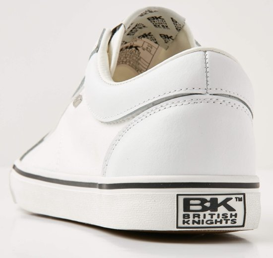 Wit Heren Sneakers Knights 43 British Laag Maat Mack qHtXtEw
