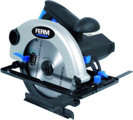 Ferm Powertools CSM1037 Cirkelzaag 1200W 185mm FERM POWERTOOLS CSM1037 CIRKELZAAG 1200W 185MM