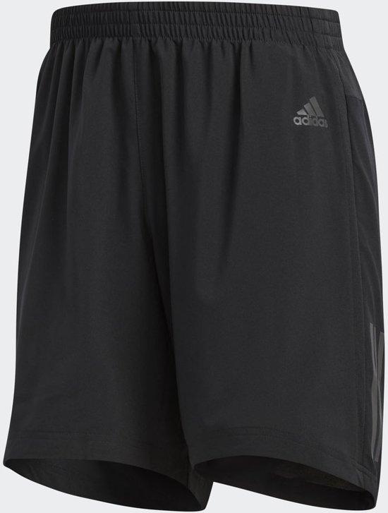 adidas Response Short 5Inch Sportshort Heren - Zwart