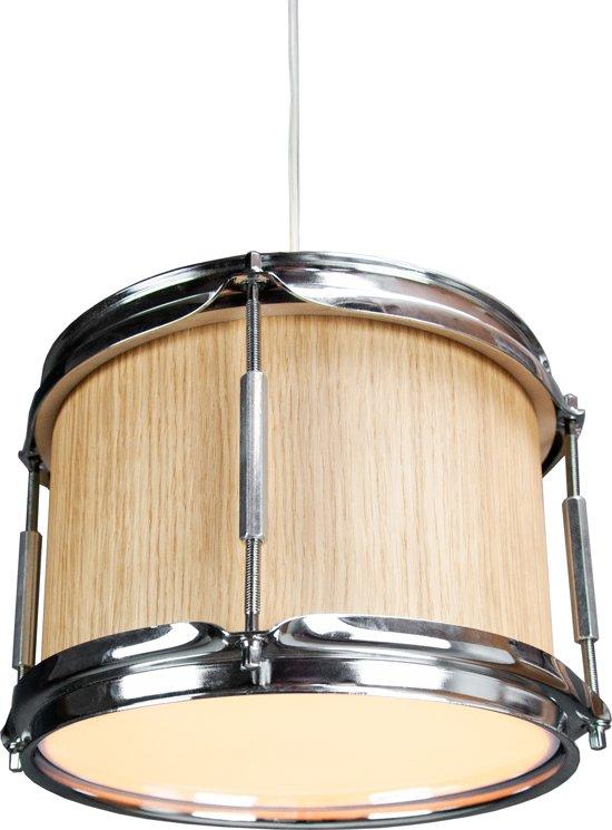 Berben Design Houten Drum Hanglamp - Eiken