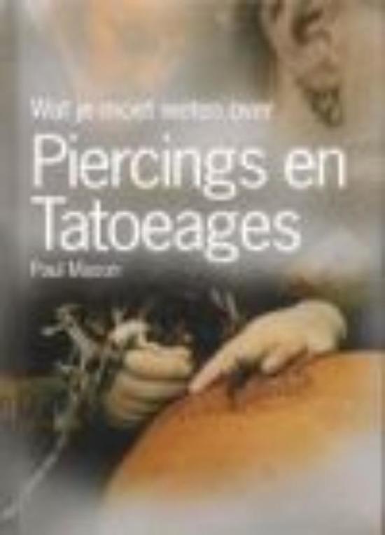 Cover van het boek 'Body piercing & tattoo's / druk 1'