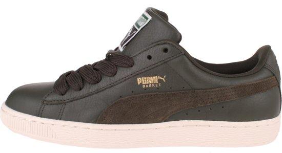 cedbd30db84 bol.com | Puma Basket Classic Sfs Sneakers Heren Groen Maat 42,5