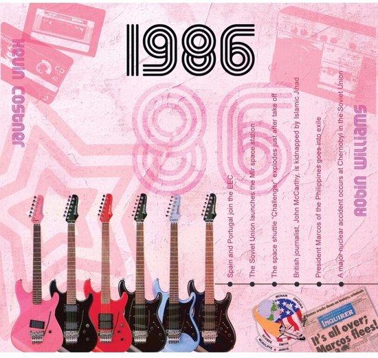 Bol Com Historische Verjaardag Cd Kaart 1986 Merkloos Speelgoed