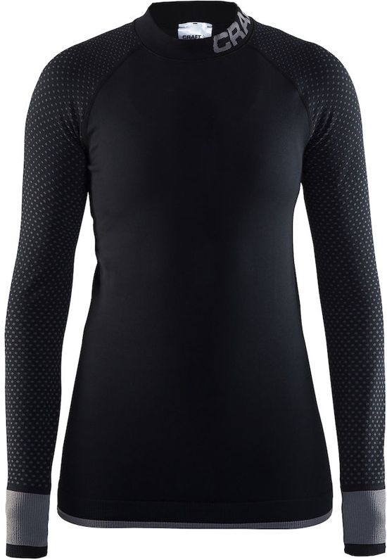 Craft Warm Intensity Cn Ls Thermoshirt Dames - Black/Granite
