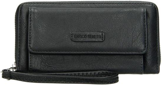 f6a6b5c2a00 bol.com | Enrico Benetti portemonnee met telefoonvak zwart