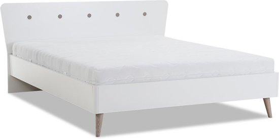 2 Persoons Ledikant Compleet.Bol Com Beter Bed Basic Bedframe Filljet Met Lattenbodems