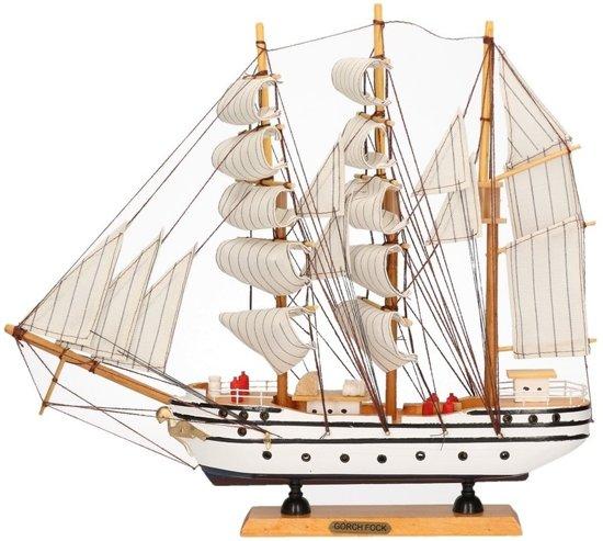 Decoratie zeilboot gorch fock merkloos speelgoed for Decoratie zeilboot
