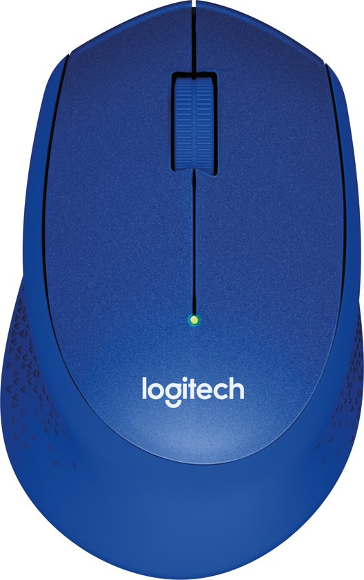 Logitech M330 - Silent Plus Draadloze Muis - Blauw