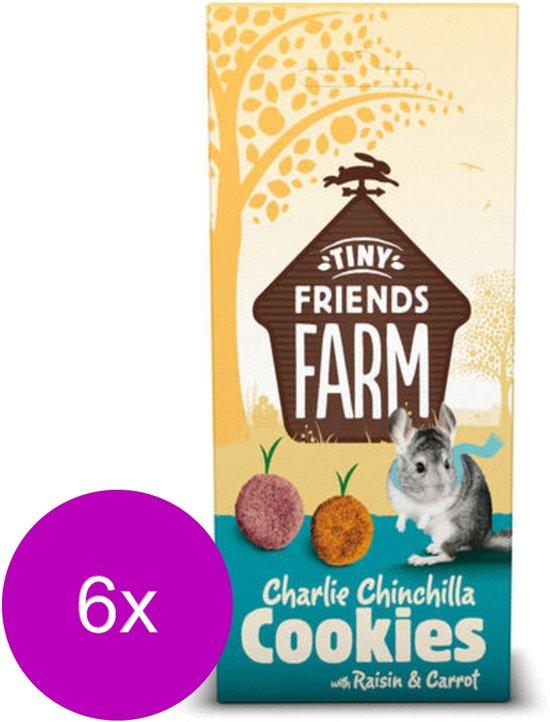 Supreme Charlie Raisin&Carrot Cruncher - Knaagdiersnack - 6 x Bosbessen Wortel 120 g