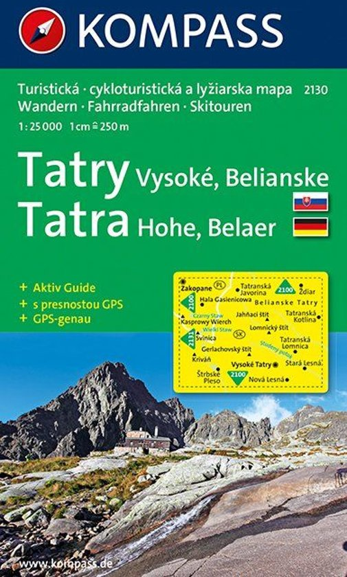 Kompass WK2130 Hoge Tatra