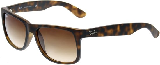 Ray-Ban RB4165 710 13 - Justin (Classic) - zonnebril - Tortoise 888018f07f221