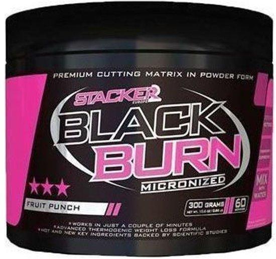 Stacker 2 Black Burn Micronized 300gr (60 servings)-Lemon