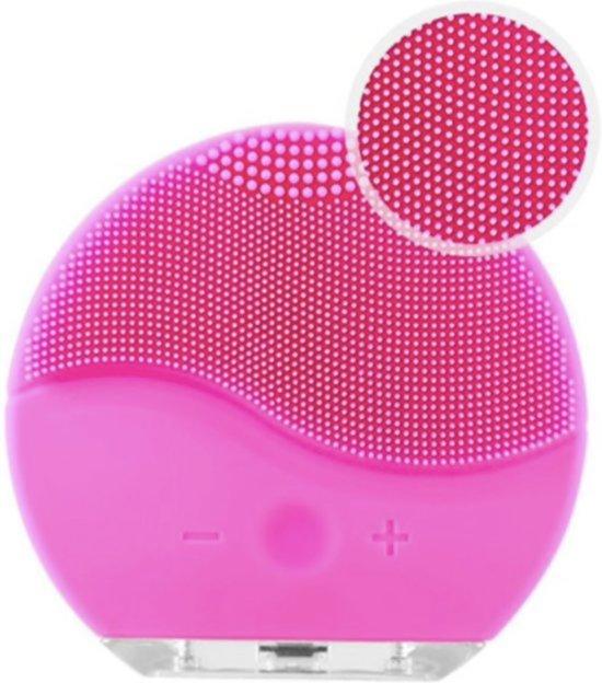 Elektrische Gezichtsborstel - Gezichtsreiniger door trilling - Verwijdert mee-eters en puistjes - Diepe reiniging van de poriën - Gezichtsborstel - Huidverzorging - Voor alle Huidtypes - USB oplaadbaar