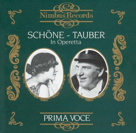 Lotte Schone And Richard Tauber In Operetta