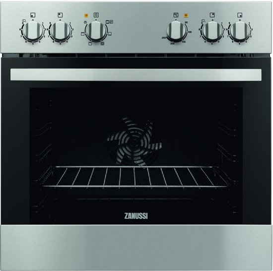 Zanussi ZOU30601XK Inbouw Multifunctionele heteluchtoven nis 60 cm