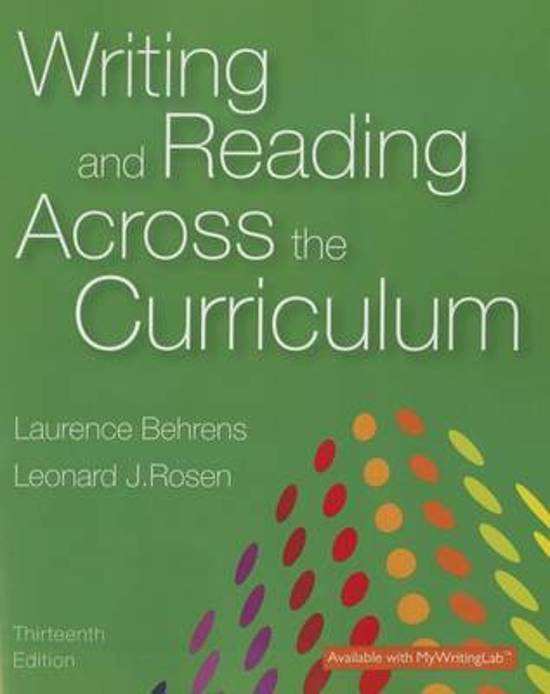 essays reading across curriculum 230 journal of advanced composition and the other phases of writing-across-the-curriculum presum ably occurring elsewhere on their campuses should take a look at.