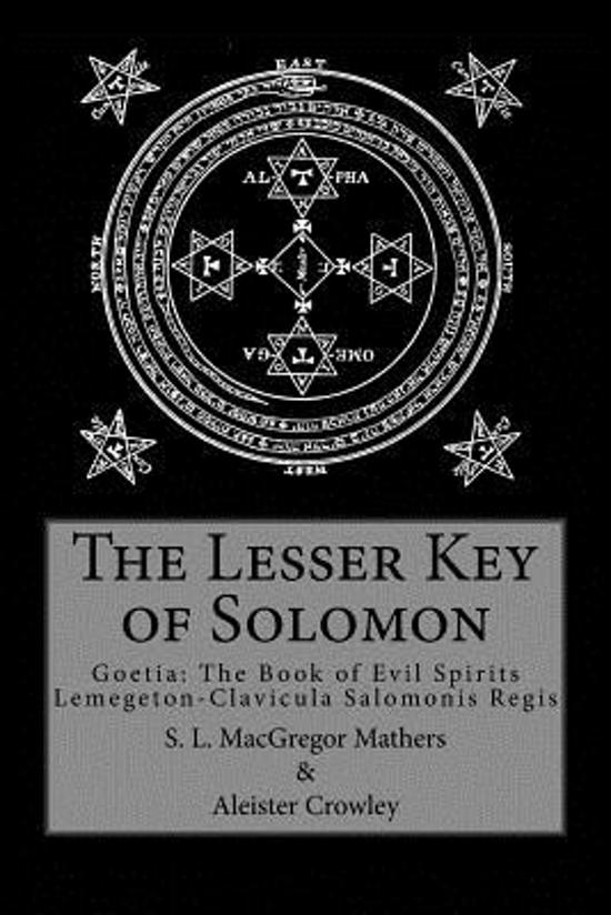 Bol The Lesser Key Of Solomon Aleister Crowley