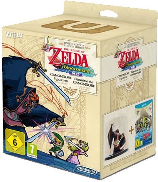 The Legend of Zelda: The Windwaker HD + Ganondorf Figurine kopen