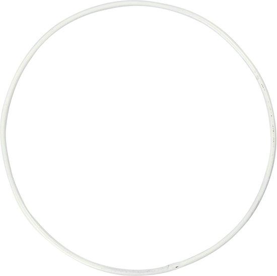 Metalen draad ring, d: 10 cm, cirkel, 10 stuks