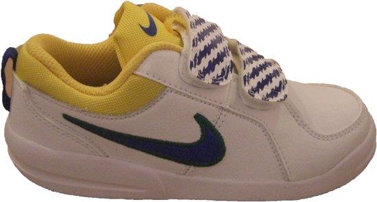 competitive price 71f70 528a6 Nike Pico V Jongensschoen - Maat 29,5 - WitGeelKobalt