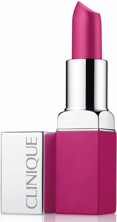 Clinique Pop Matte Lip Colour + Primer Lippenstift - Shock Pop