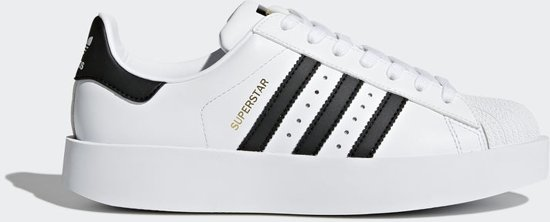 e4b48c5c855 bol.com | adidas Superstar Sneakers Dames - White/Black