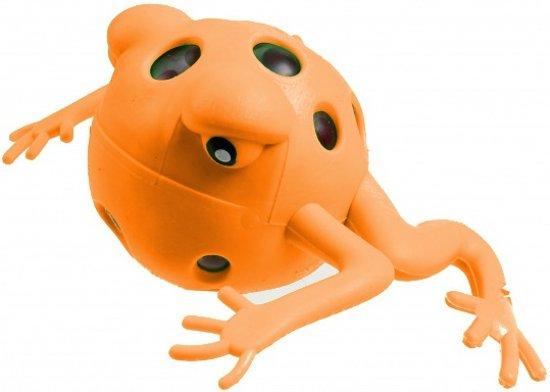 Jonotoys Stressbal Kikker 9 Cm Oranje