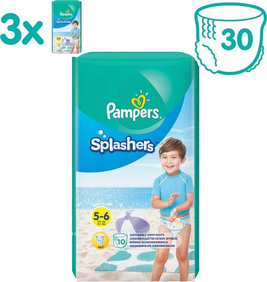 Pampers Splashers Wegwerpbare Zwemluiers - Maat 5-6 - 30 Stuks