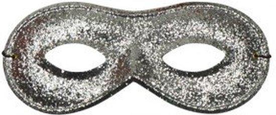 Oogmasker farfalla met glitterzilver