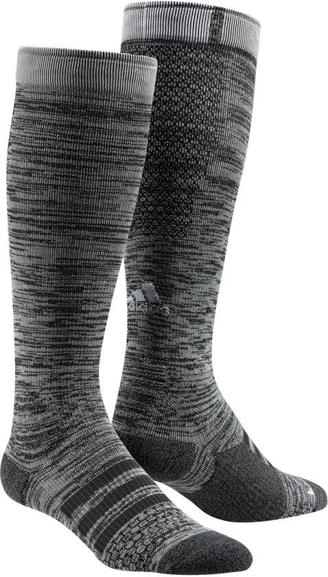 adidas Energy Compression Running Sock Sportsokken - Maat 34-36 - Unisex - grijs