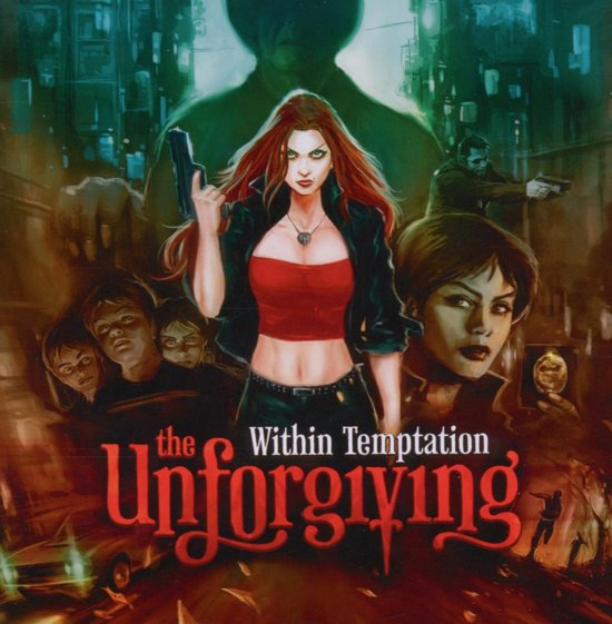 CD cover van The Unforgiving van Within Temptation
