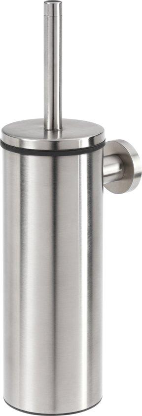 Tiger Boston Toiletborstel met houder - RVS Geborsteld
