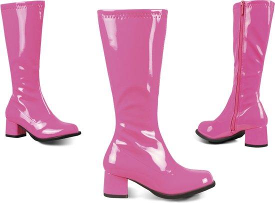 roze laarzen