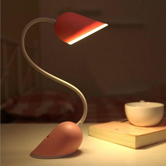 bol.com | Ditto - Hart Nachtlamp / Bureaulamp Roze / Kinderkamer ...
