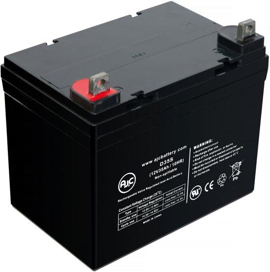 AJC® battery compatibel met Value Shopper Scooter 12V 35Ah Step accu