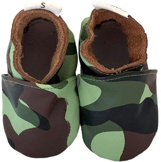 BabySteps slofjes Camo Green Medium