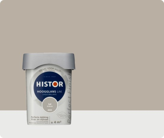 Histor Perfect Finish Lak Hoogglans 0,25 liter - Lei