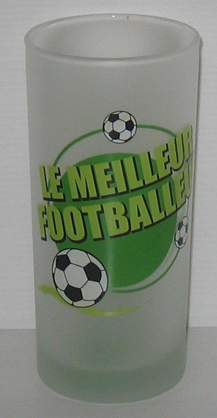 Longdrinkglas Le meilleur footballeur