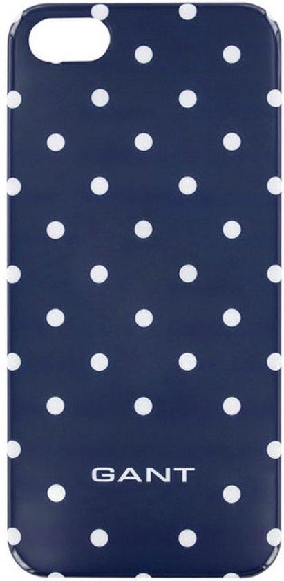 ba18471d167 bol.com | Gant Dots Hard Case/Cover Apple iPhone 5/5S/SE Blauw