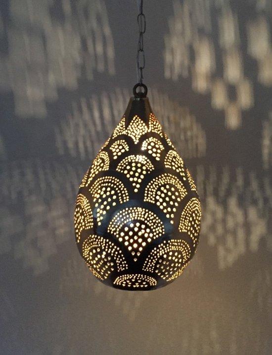 Oosterse hanglamp Gold Vintage Handgemaakt