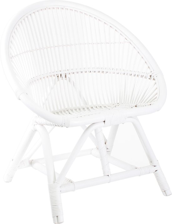 Rotan Fauteuil Wit.Bol Com Hkliving Rotanstoel Wit