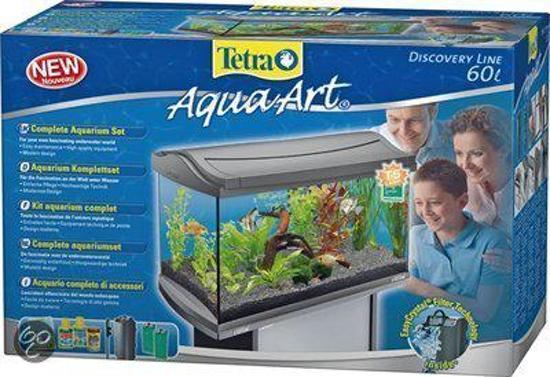 Tetra Aqua Art Aquarium - 57x35x30 cm - 60L - Zilver
